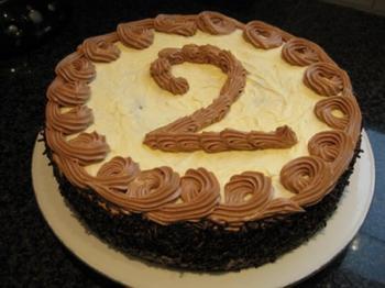 Biscuit met boterroom: verjaardagstaart, kerstgebak of paasgebak 5