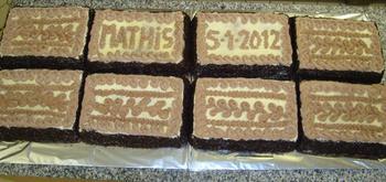 Biscuit met boterroom: verjaardagstaart, kerstgebak of paasgebak 7