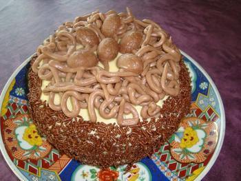 Biscuit met boterroom: verjaardagstaart, kerstgebak of paasgebak 8