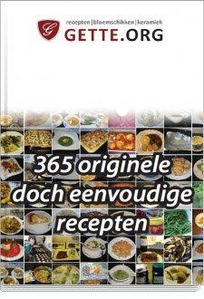 Koop het boek 365 originele doch eenvoudige gerechten