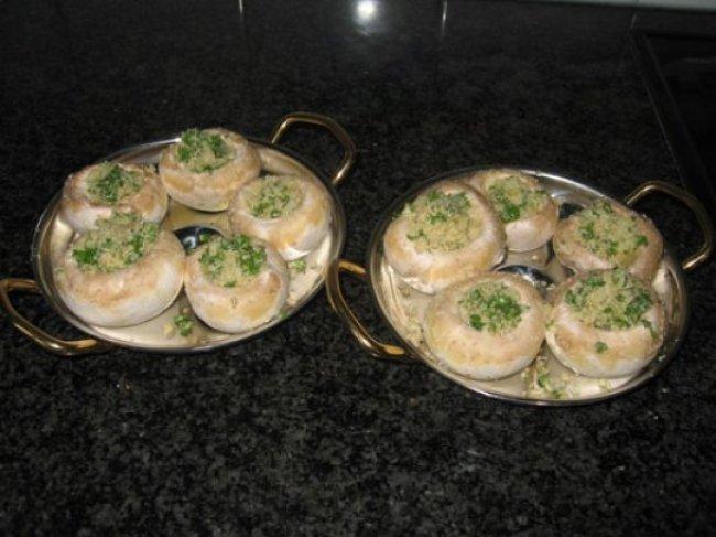 Gevulde champignons 1