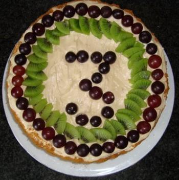 Biscuit met speculaas, mascarponecrème en vers fruit 5