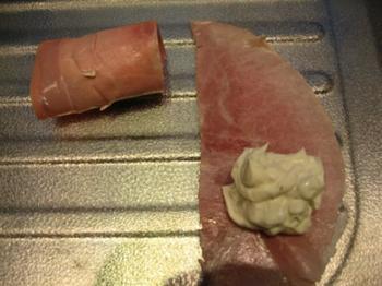 Cannelloni van hesp met kruidenkaas en peer 2