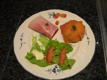 Cannelloni van hesp met kruidenkaas en peer 3
