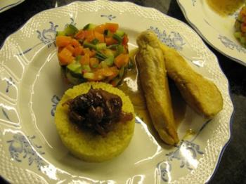 Couscous met kipfilets en groenten 2