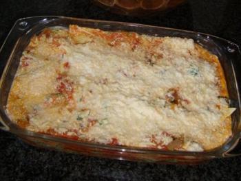 Lasagne met ricotta en spinazie 3