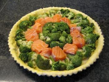 Quiche met broccoli en vis 3