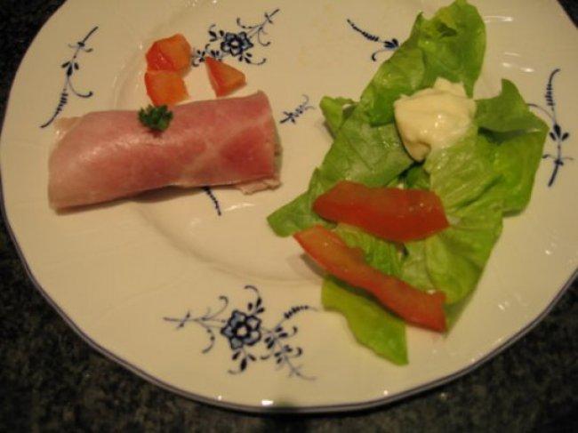 Cannelloni van hesp met kruidenkaas en peer 1