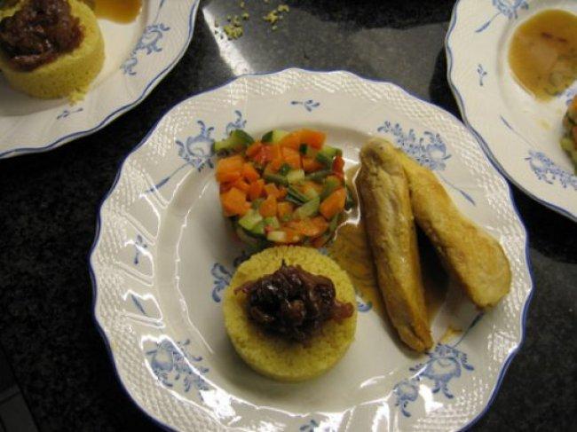 Couscous met kipfilets en groenten 1
