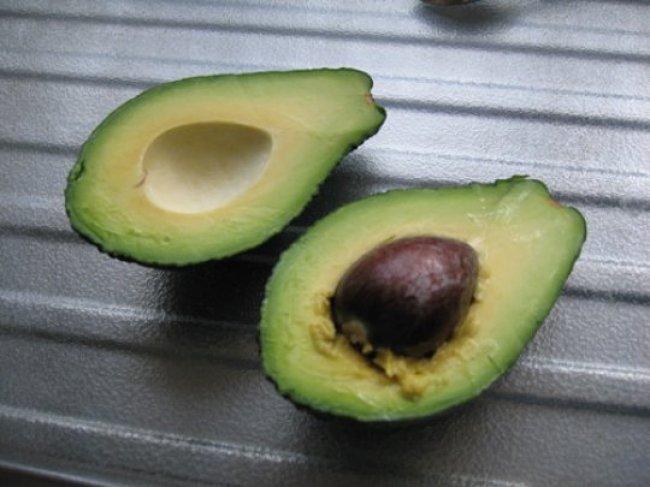Gevulde avocado met zalm en mandarijn 1