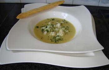 Bloemkool - aardappelsoep 2