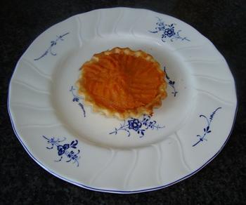 Fazant met vijg, witloof en taartje met zoete aardappel 4