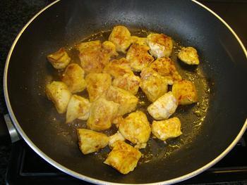 Kip met Gorgonzola, alpro cuisine en penne 3
