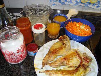 Konijn met groenten en sinaasappelsap 3