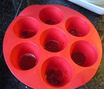 Parfait van mascarpone met karamelsaus en vers fruit 3