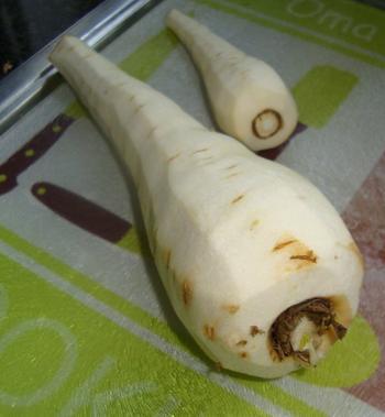 Pastinaaksoep met krokante pata negro ham 2