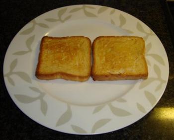 Toast champignon 4
