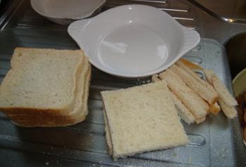 Verloren brood, pain perdu of wentelteefjes met appel 3