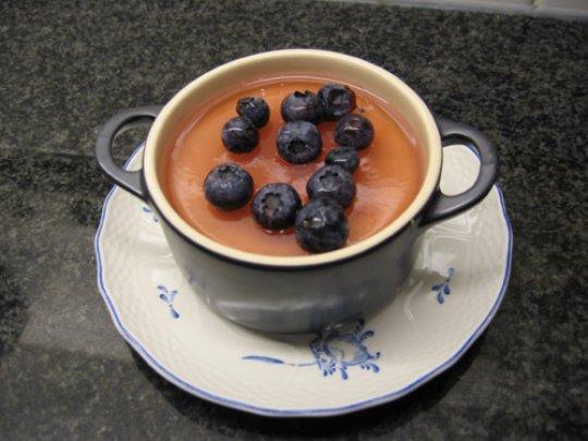 Kaascrème met witte chocolade 1