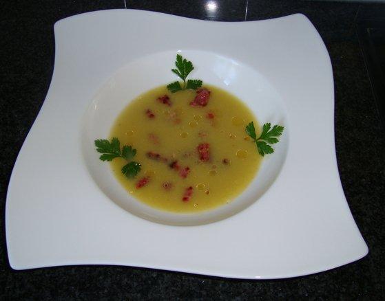 Spruitjessoep met spekjes 1