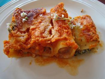 Cannelloni met gehakt en tomatensaus 2