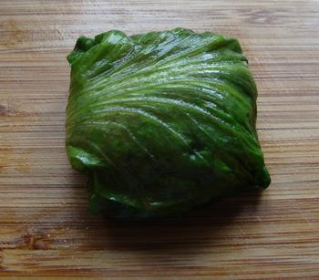 Chinese koolbladeren gevuld met rundgehakt 7