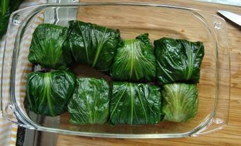 Chinese koolbladeren gevuld met rundgehakt 8