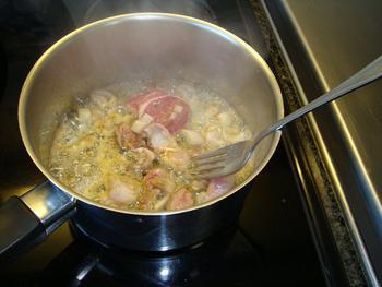 Lamscarré met mosterd, groentjes en aardappelgratin 2