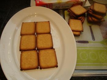 Petit beurrekoek met boterroom of koninklijk dessert 3