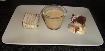 Petit beurrekoek met boterroom of koninklijk dessert 6