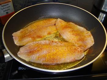 Tilapiafilet met zalfje van bloemkool en broccoli en aardappelpuree met zongedroogde tomaten 5