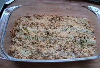 Fazantenfilet en asperges met crumble 10