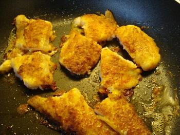 Festonati pasta of andere deegwaren met visfilets, garnalen en champignons 7