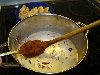 Kalkoen met rode currypasta 6