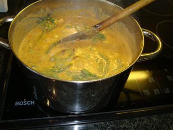 Kalkoen met rode currypasta 7