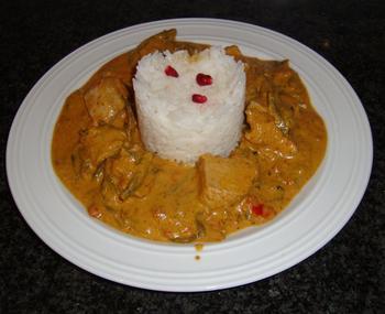 Kalkoen met rode currypasta 8