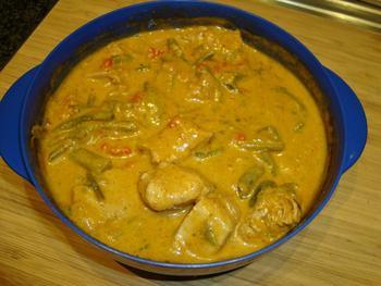 Kalkoen met rode currypasta 9