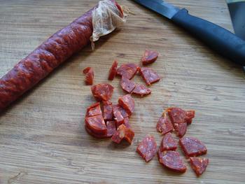Maïstortilla's met bulgurkoekjes en pittige saus 2