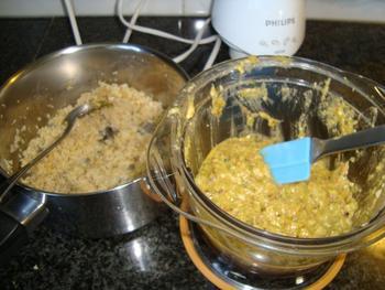 Maïstortilla's met bulgurkoekjes en pittige saus 5