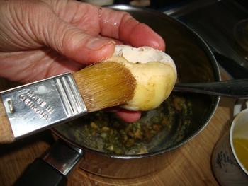 Ovenschotel: gevulde champignons met pesto 5