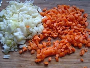 Potje van varkensstoofvlees en wortelen 2