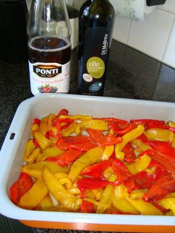 Paprika roosteren 6