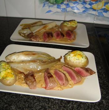 Saus met zure room en siroop; bij wild of ander vlees 2