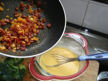 Spaghetti alla carbonara met broccoli 3