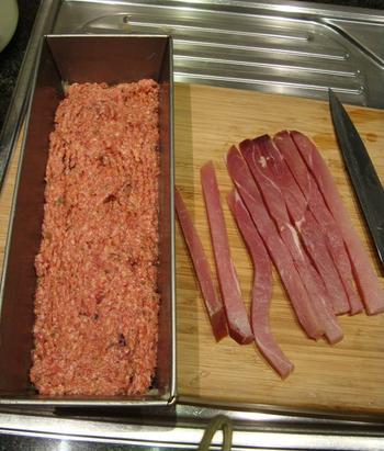 Terrine met ham en cranberry's 4