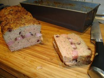 Terrine met ham en cranberry's 7