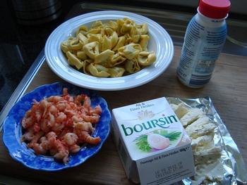 Tortelloni met kruidenkaas en rivierkreeftstaartjes 2