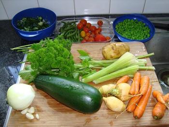 Vegetarische maaltijdsoep 2
