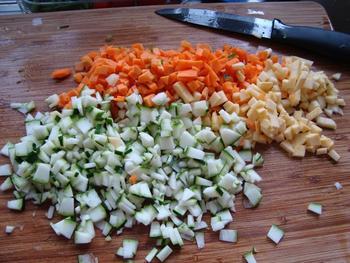 Vegetarische maaltijdsoep 3