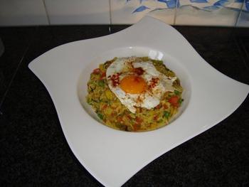 Vegetarische, mediterraanse risotto 4